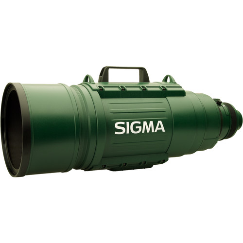 Sigma 200-500mm f/2.8 EX DG APO IF Autofocus Lens for Canon SLR - Green