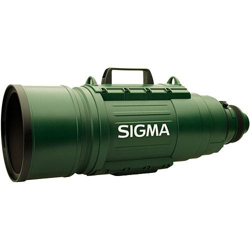 Sigma 200-500mm f/2.8 EX DG APO IF Autofocus Lens for Sigma SLR Camera - Green