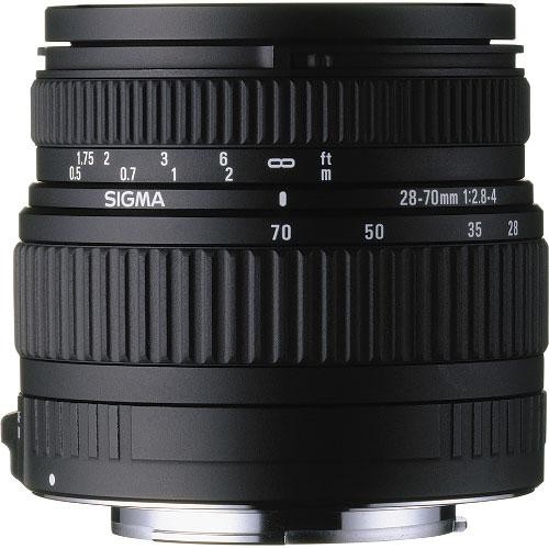 Sigma 28-70mm f/2.8-4 DG Compact Zoom Autofocus Lens for Sony Alpha & Minolta Maxxum