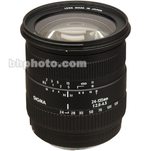 Sigma 24-135mm f/2.8-4.5 Autofocus Lens for Sigma SLR Camera