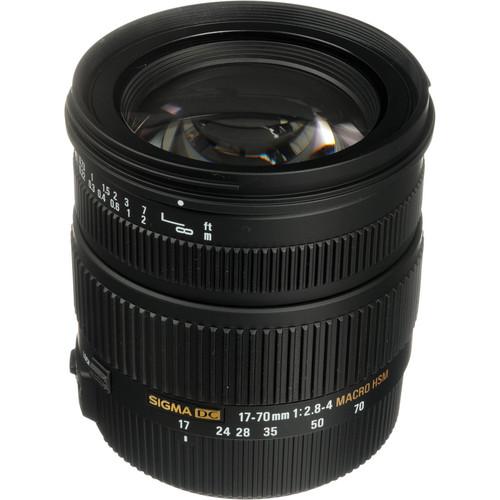 Sigma 17-70mm f/2.8-4 DC Macro OS HSM Lens for Canon Digital Cameras