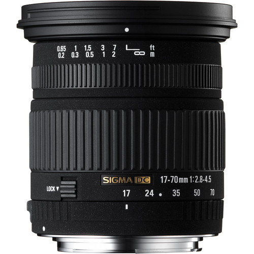 Sigma 17-70mm f/2.8-4 DC Macro OS HSM Zoom Lens