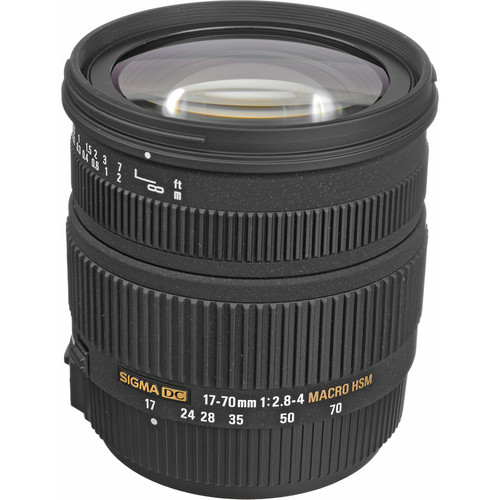 Sigma 17-70mm f/2.8-4 DC Macro HSM Lens for Sony/Minolta Digital Cameras