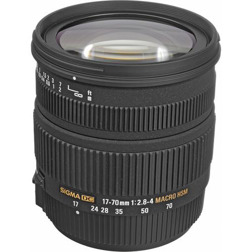 Sigma 17-70mm f/2.8-4 DC Macro HSM Lens for Sony/Minolta Digital Cameras