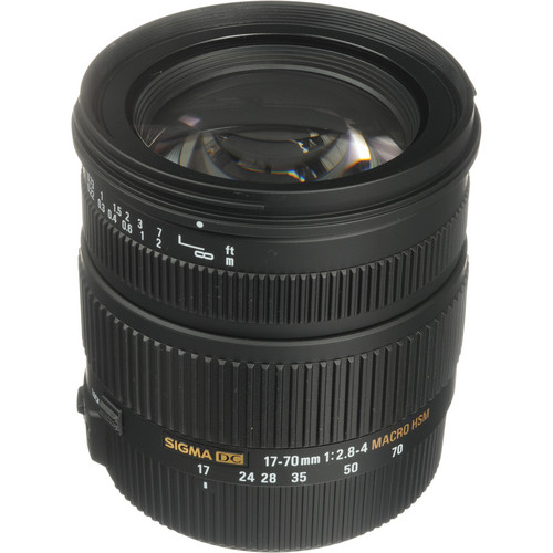 Sigma 17-70mm f/2.8-4 DC Macro OS HSM Lens for Nikon Digital Cameras