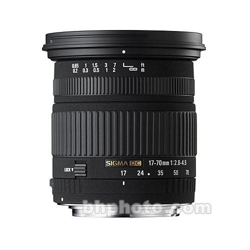 Sigma 17-70mm f/2.8-4.5 DC Macro Lens for Nikon Digital Cameras