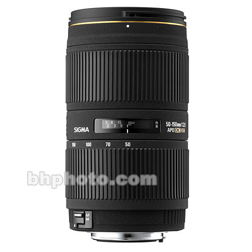 Sigma Zoom Normal-Telephoto 50-150mm f/2.8 EX DC HSM Autofocus Lens for Nikon Digital SLR