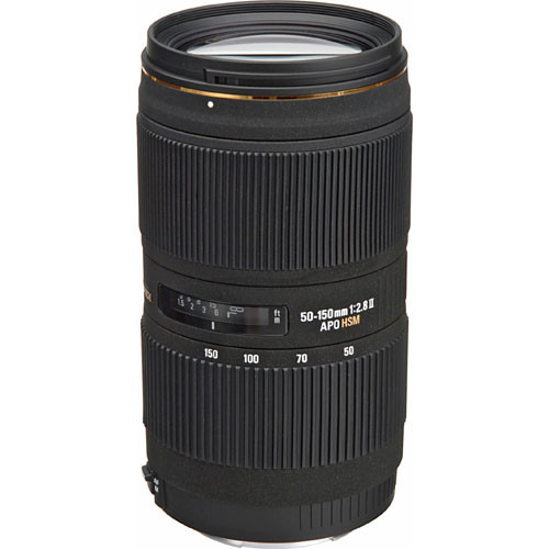 Sigma 50-150mm f/2.8 II EX DC HSM Lens