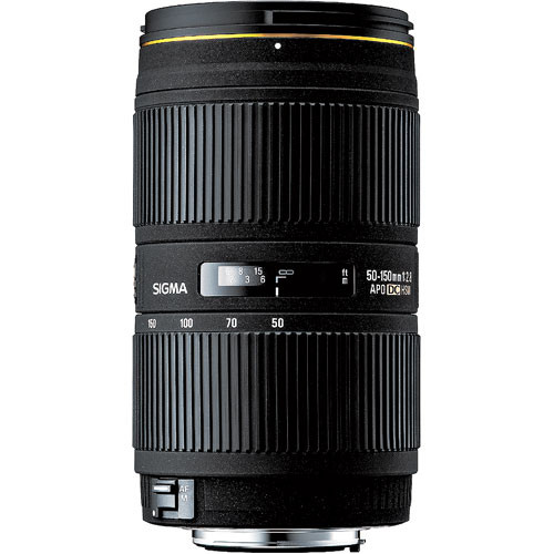 Sigma 50-150mm f/2.8 II EX DC HSM Lens for Nikon Digital SLR
