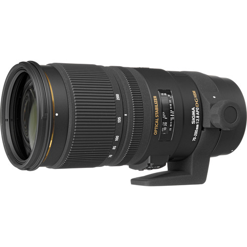 Sigma 70-200mm f/2.8 EX DG APO OS HSM Lens for Canon with LensCoat & Cleaning Cloth Kit