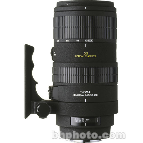 Sigma 80-400mm f/4.5-5.6 EX DG APO OS Lens for Canon EOS