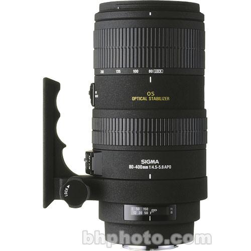 Sigma 80-400mm f/4.5-5.6 EX DG APO OS Lens for Nikon AF