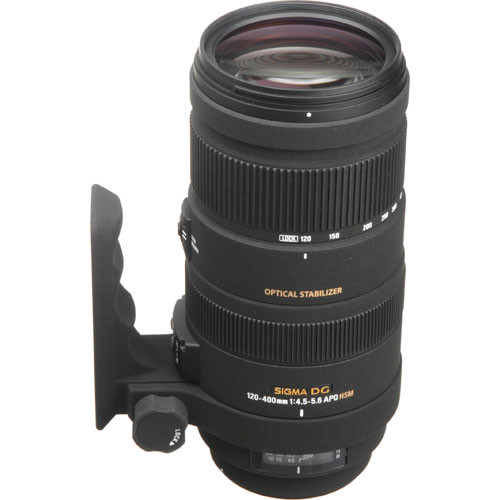 Sigma 120-400mm f/4.5-5.6 DG OS HSM APO Autofocus Lens for Nikon AF