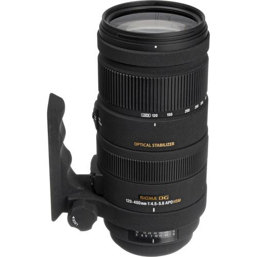 Sigma 120-400mm f/4.5-5.6 DG APO OS HSM Autofocus Zoom Lens (Pentax Mount)