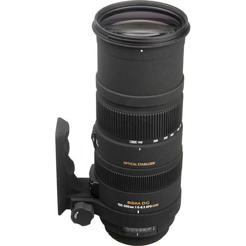 Sigma 150-500mm f/5-6.3 APO DG OS HSM Lens for Nikon F Mount