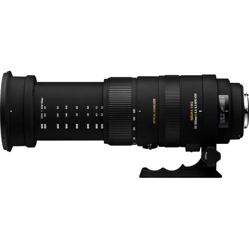 Sigma APO 50-500mm f/4.5-6.3 DG OS HSM Lens for Sigma SA