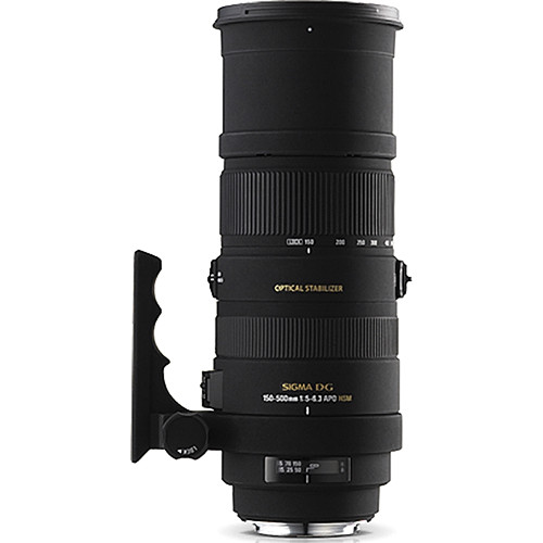 Sigma 150-500mm f/5-6.3 APO DG HSM Lens for Pentax K Mount