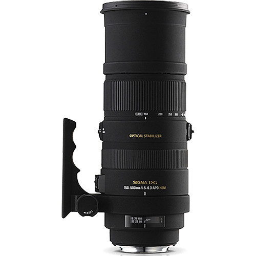 Sigma 150-500mm f/5-6.3 APO DG HSM Lens for Sony A Mount