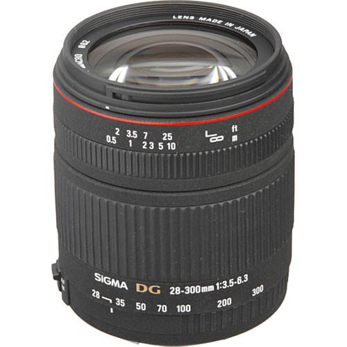Sigma 28-300mm f/3.5-6.3 DG IF Macro Autofocus Lens