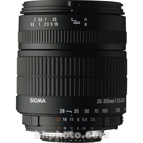 Sigma 28-300mm f/3.5-6.3 DG Macro Autofocus Lens