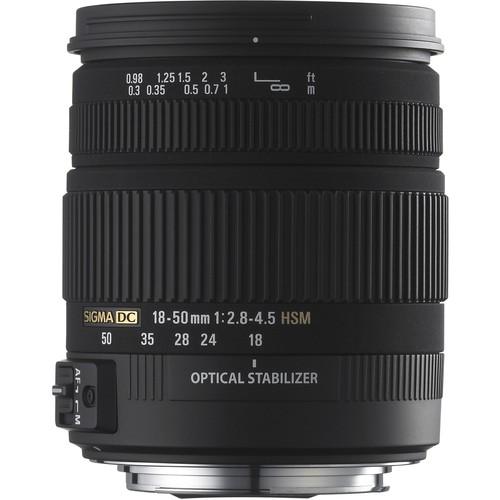 Sigma 18-50mm f/2.8-4.5 DC HSM Zoom For Pentax D-SLRs