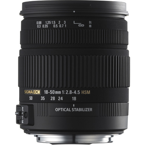Sigma 18-50mm f/2.8-4.5 DC OS HSM Zoom Lens for Sigma