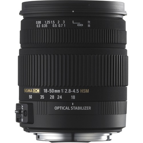 Sigma 18-50mm f/2.8-4.5 DC HSM Zoom For Sony D-SLRs