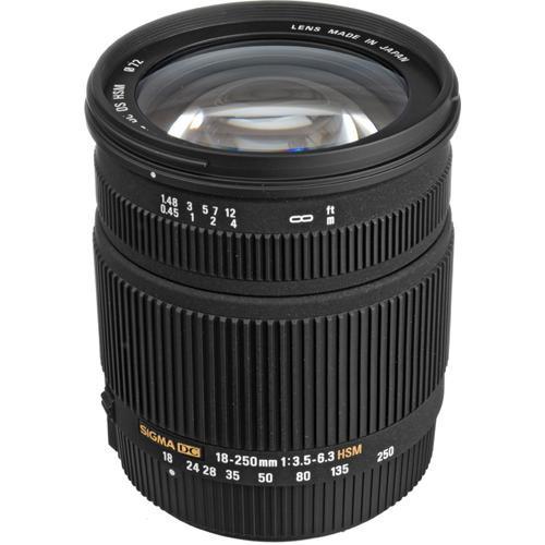 Sigma 18-250mm f/3.5-6.3 DC OS HSM Autofocus Zoom Lens For Pentax Cameras