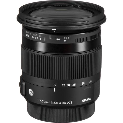 Sigma 17-70mm f/2.8-4 DC Macro HSM Contemporary Lens for Pentax K