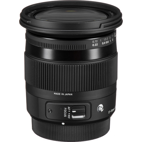 Sigma 17-70mm f/2.8-4 DC Macro HSM Contemporary Lens for Sony A