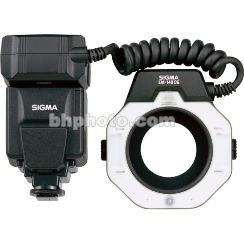 Sigma EM-140 DG TTL Macro Ringlight Flash for Pentax P-TTL