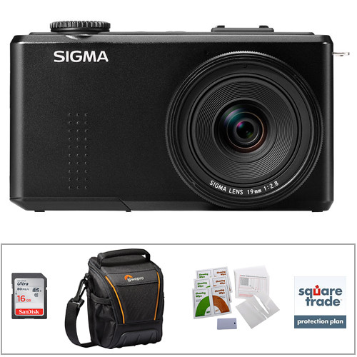 Sigma Sigma DP1 Merrill Compact Digital Camera Deluxe Kit