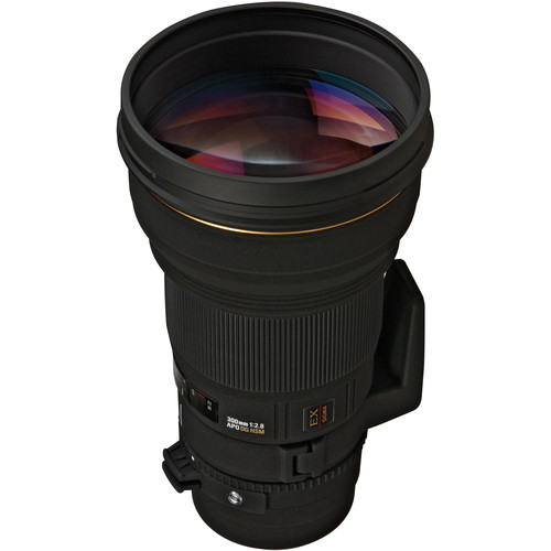 Sigma 300mm f/2.8 EX DG HSM AF Lens for Canon EOS with Black LensCoat Cover, Hoodie & Cleaning Kit