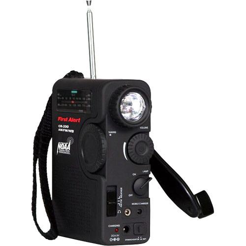Sima CR-200 Crank Power Radio & Flashlight
