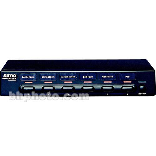 Sima SSW-6 1x6 Speaker Selector, Crimp Connectors