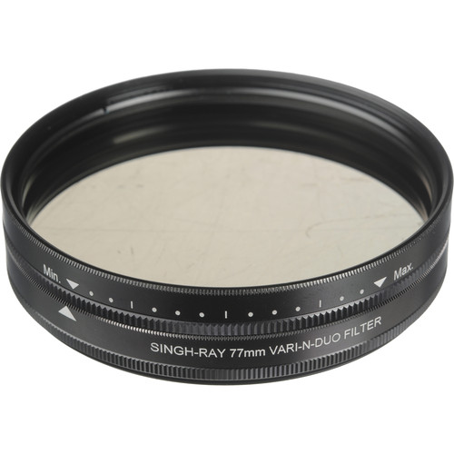 Singh-Ray 77mm Vari-N-Duo Polarizing Variable Neutral Density Filter (Standard Mount)