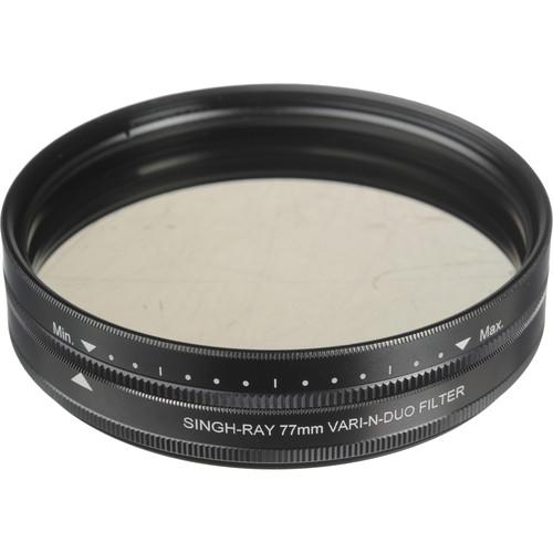 Singh-Ray 77mm Vari-N-Duo Polarizing Variable Neutral Density Filter (Standard Mount)