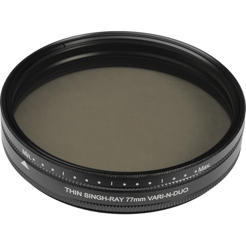 Singh-Ray 77mm Vari-N-Duo Polarizing Variable Neutral Density Filter (Thin Ring)