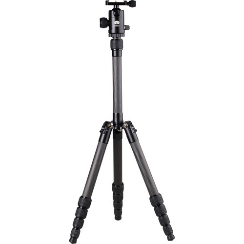 Sirui T-025 5-Section Carbon Fiber Tripod with C-10 Ball Head