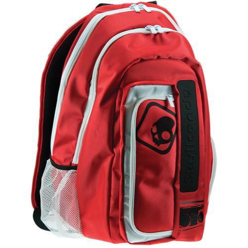 Skullcandy Audio Pack Backpack for iPod (Red & White)
