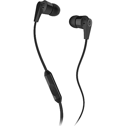 Skullcandy INK'D MIC'D Earbud Headphones (Black)