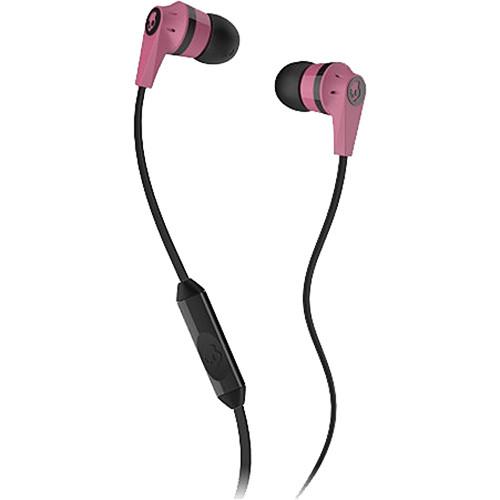 Skullcandy INK'D 2 Earbud Headphones (Pink and Black)