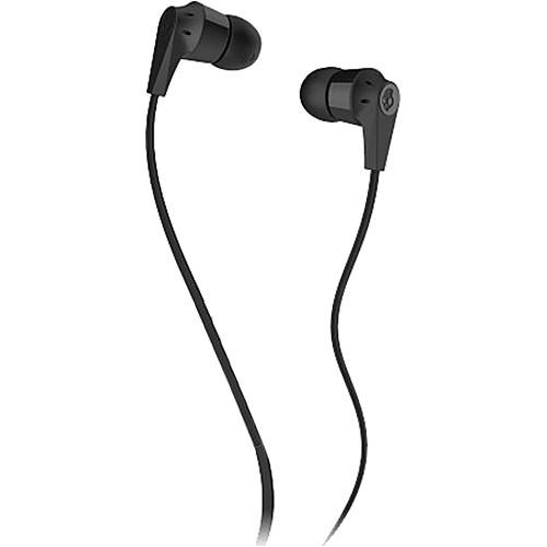 Skullcandy INK'D 2.0 Earbud Headphones (Black and Black)