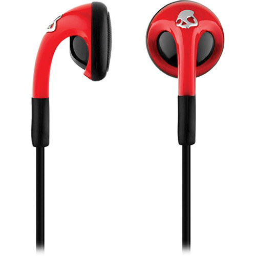 Skullcandy Fix Bud Earbuds (Red and Black)