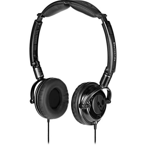 Skullcandy Lowrider DJ-Style Stereo Headphones (Black)