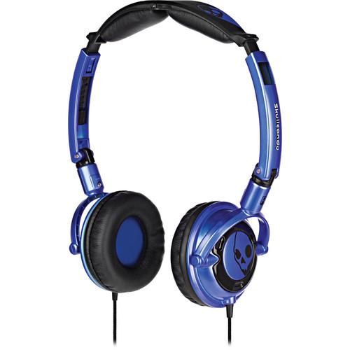Skullcandy Lowrider DJ-Style Stereo Headphones (Blue)