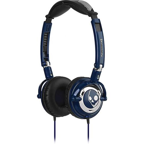 Skullcandy Lowrider On-Ear Headphone (Navy and Chrome)