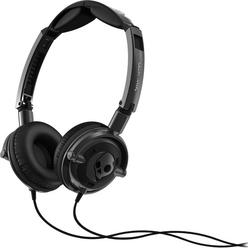 Skullcandy Lowrider On-Ear Headphone (Gun Metal and Black)