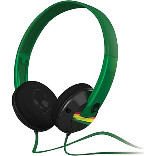 Skullcandy Uprock On-Ear Headphone (Black and Rasta)