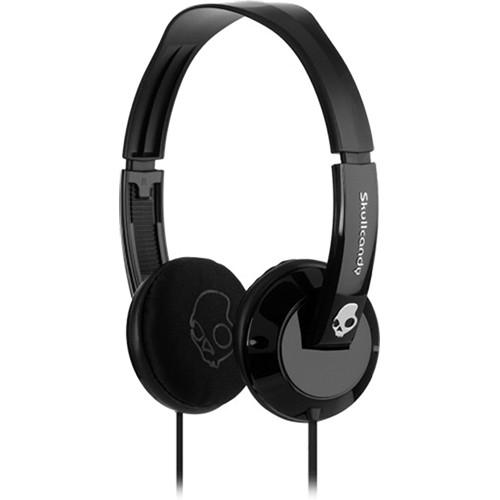 Skullcandy Uprock On-Ear Headphone (Black and Black)